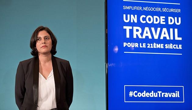 FRA: Paris: Manuel Valls and Myriam EL Khomri presented the orientations of the future Labour Code