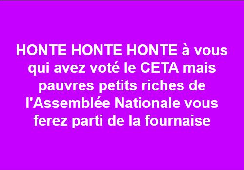 CETA VOTE