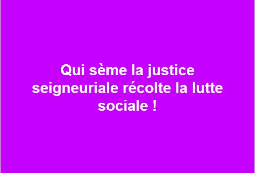 lutte sociale
